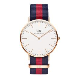 DW CLASSIC OXFORD ROSÉ 40MM