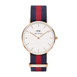 DW CLASSIC OXFORD ROSÉ 36MM