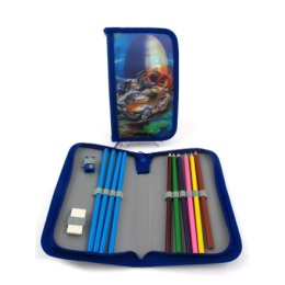 PENCIL CASE BLUE
