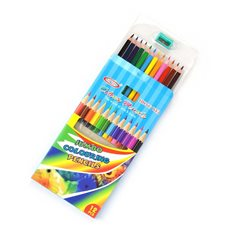 PENCIL COLOR w SHARPENER 12+1pcs 17.5cm
