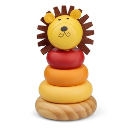 WOODEN LION STACKER