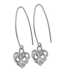LOVA EARRINGS STEEL