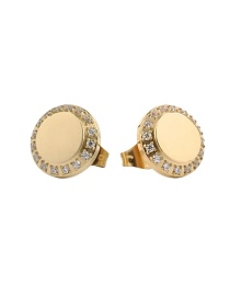 ASTRID&AGNES CORINNE EARRINGS GOLD