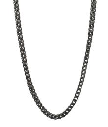 AROCK IGGY SMALL NECKLACE GUN METAL
