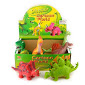 DINOSAUR SOFT CARTOON 6ass 27cm