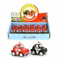 CAR BEETLE POLICE/FIREFIGHTER pb 2ass 5cm