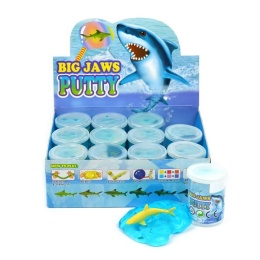 PUTTY SHARK LARGE 2ass 7.5cm