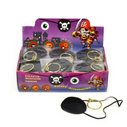 PIRATE EARRING EYEPATCH