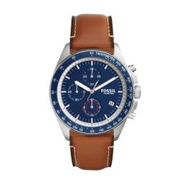 FOSSIL MEN BLUE NUBUCK LEATHER