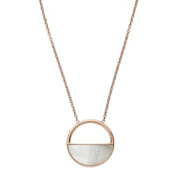 SKAGEN NECKLACE STAINLESS STEEL ROSE GOLD