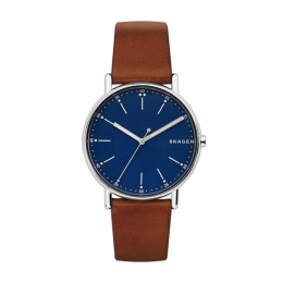SKAGEN STAINLESS STEEL LEATHER