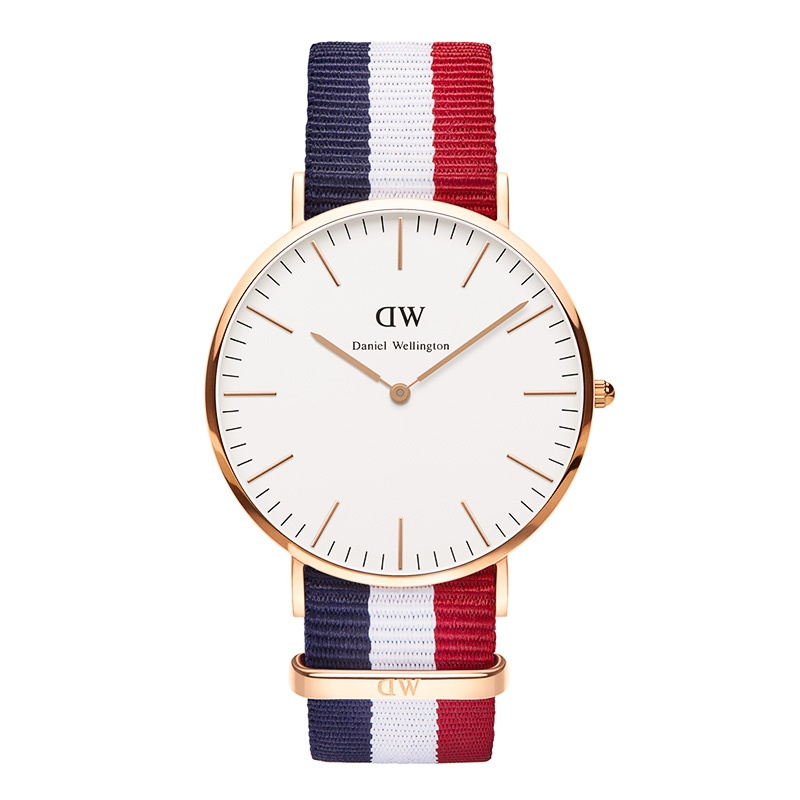 DW CLASSIC CAMBRIDGE ROSÉ 40MM