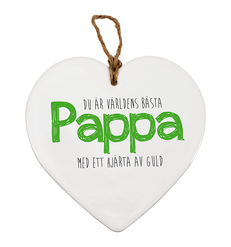 "MESSAGE HEART ""PAPPA"""