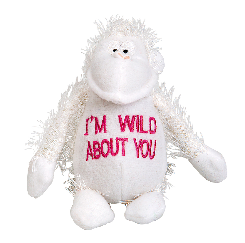 "PLUSH MONKEY ""I´M WILD ABOUT YOU"""