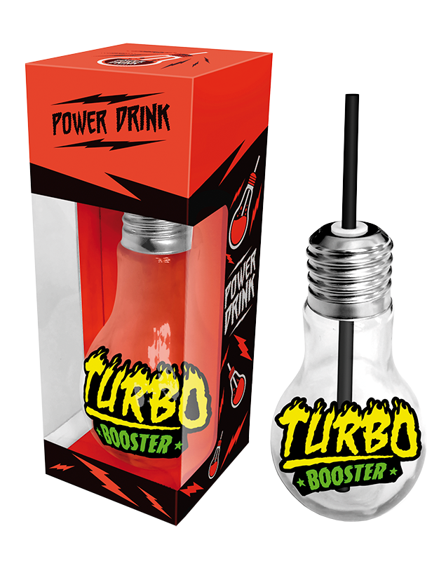 LIGHTBULB GLASS TURBO BOOSTER