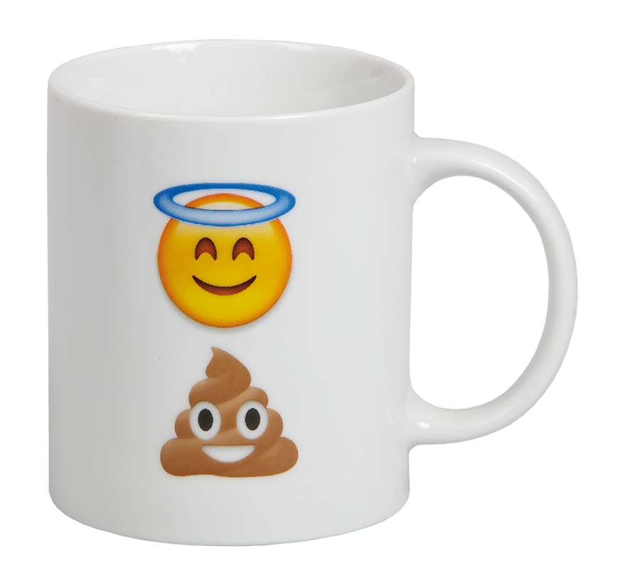 "MUGG EMOJI ""HOLY SHIT"""