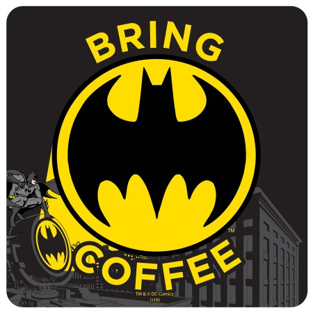 GLASUNDERLÄGG BATMAN COFFEE