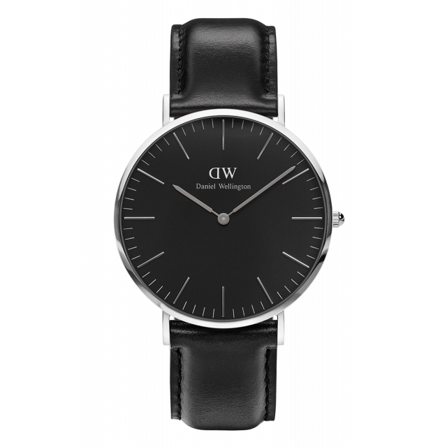 DW CLASSIC BLACK SHEFFIELD STÅL 40MM