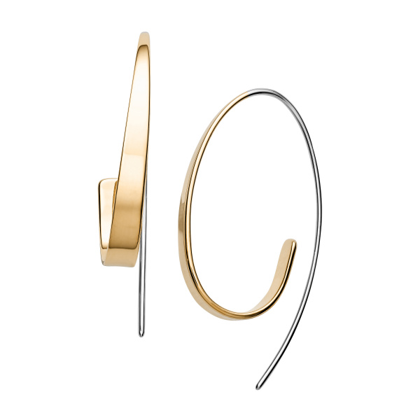 SKAGEN EARRINGS STAINLESS STEEL GOLD