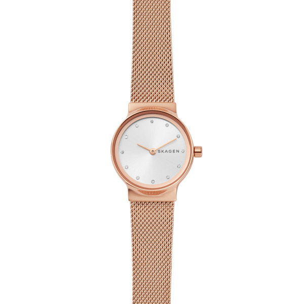 SKAGEN STAINLESS STEEL ROSE GOLD MESH