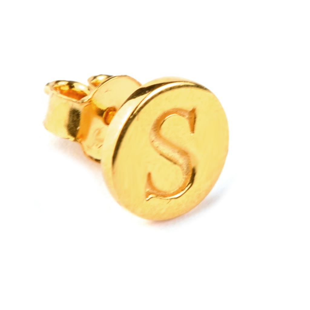 Syster P | BELOVED STUD EARRING GOLD