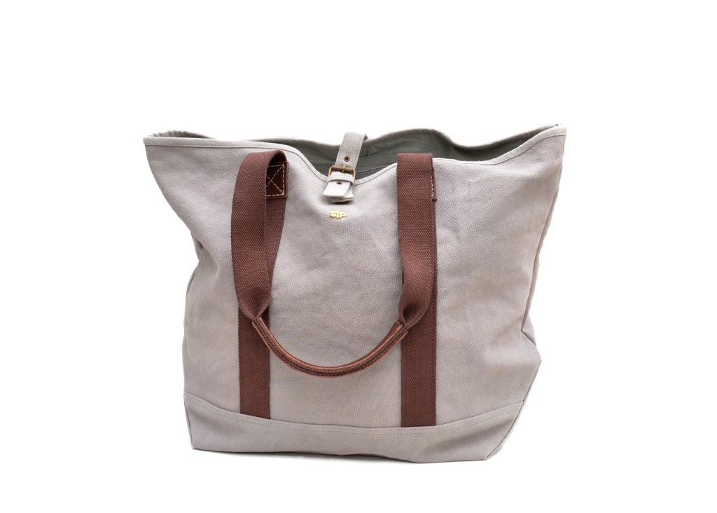 BOSTON SHOPPER, LIGHT GREY