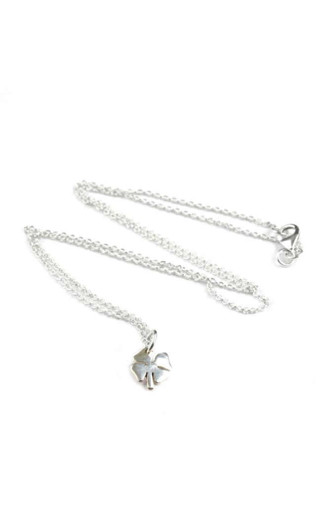 BRING ME LUCK NECKLACE SILVER