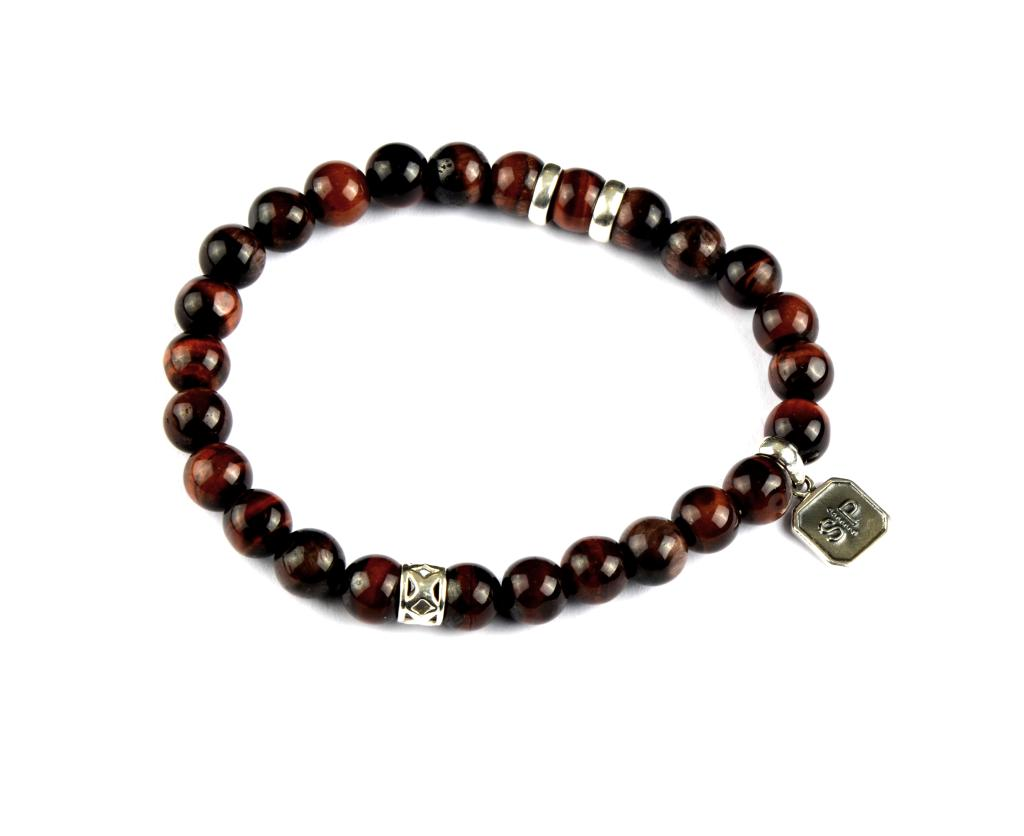 CHRIS BRACELET RED TIGER EYE