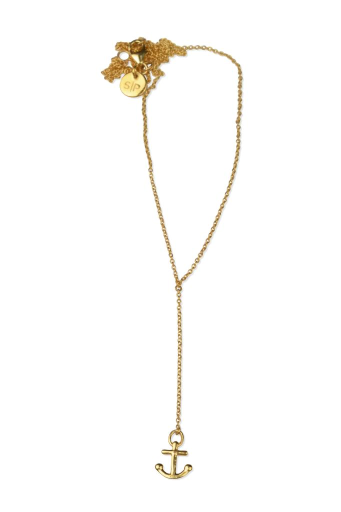Syster p dangling necklace gold anchor dangling necklace gold anchor aloadofball Gallery