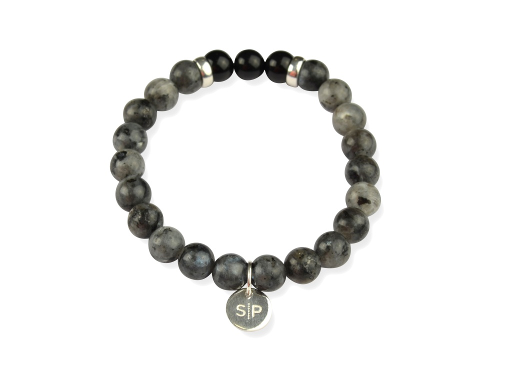 FIND YOUR WAY BRACELET GREY