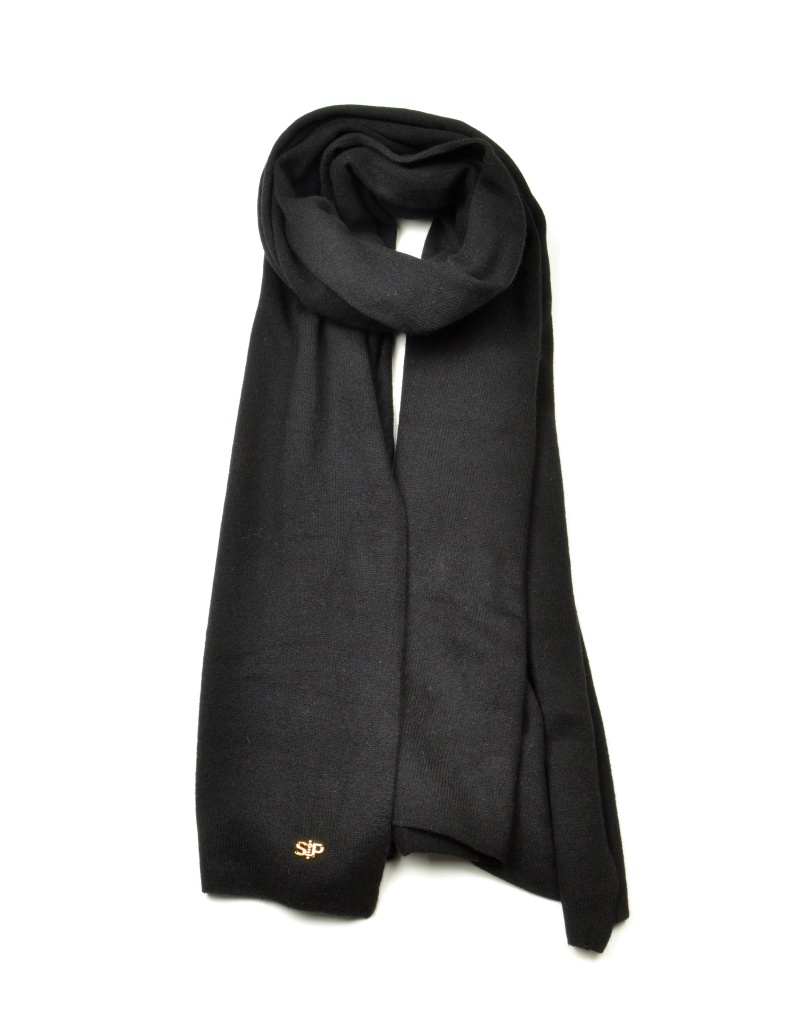 THESS SCARF, BLACK