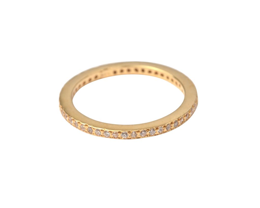 TINY SPARKLE RING GOLD