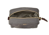 MIDI TOILETRY BAG, DARK GREY
