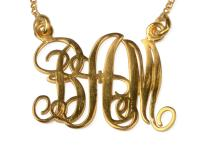 MONO NECKLACE GOLD BAM