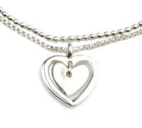 THE HEART IN MY HEART SILVER