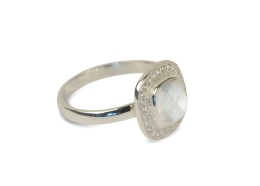 CLASSY RING SILVER MOONSTONE