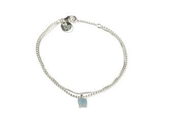 ADORABLE BRACELET AQUAMARINE