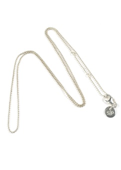 ADORABLE CHAIN LONG SILVER