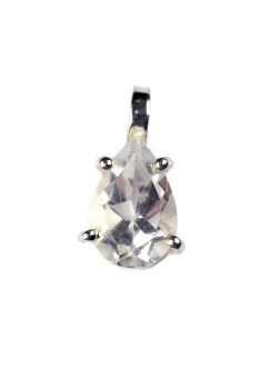 ADORABLE PEAR CUT CRYSTAL
