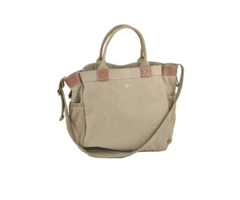 ASHLEY TOTE BAG, SAND