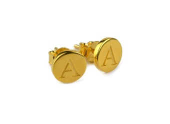 BELOVED STUD EARRING GOLD A