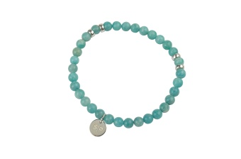 CHRIS NARROW BRACELET AMAZONITE