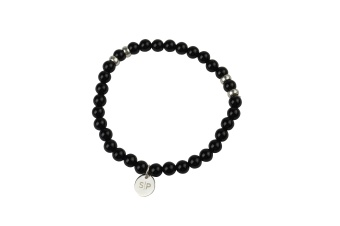 CHRIS NARROW BRACELET BLACK ONYX