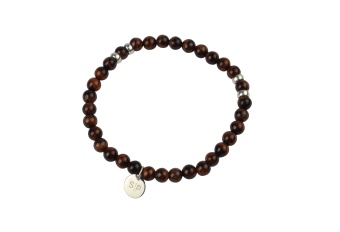 CHRIS NARROW BRACELET RED TIGER EYE
