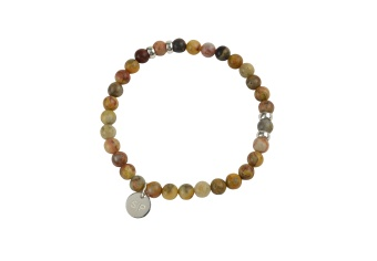 CHRIS NARROW BRACELET SANDSTONE JADE