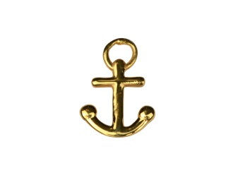 DANGLING PENDANT GOLD ANCHOR