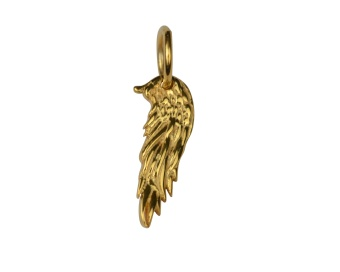 DANGLING EARRING GOLD ANGEL