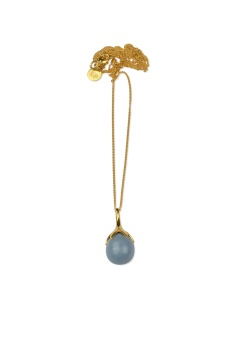 DRIPPING NECKLACE GOLD, ANGELITE