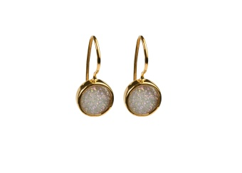 FRANCES DRUZY EARRINGS GOLD MOON