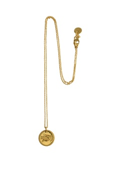 KARMA NECKLACE INNER PEACE GOLD